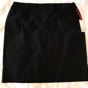 NWT Elle Black Stretchy Pencil Skirt Size XL